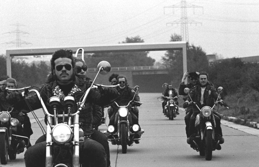 Rocker 1971 - Fotos für Film von Klaus Lembke © Heinrich Klaffs